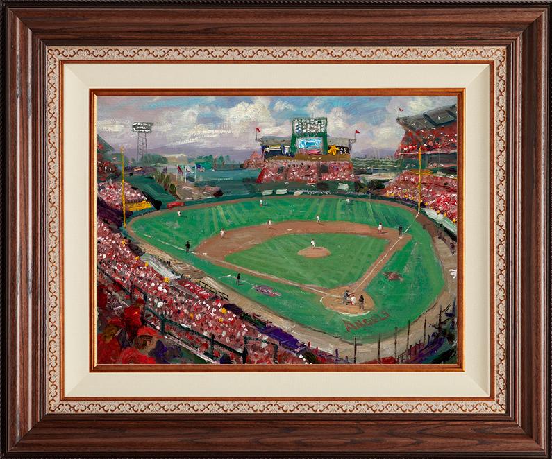 World Series 2002 -- Anaheim -- Deluxe Walnut