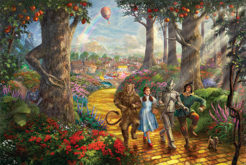 Follow the Yellow Brick Road™