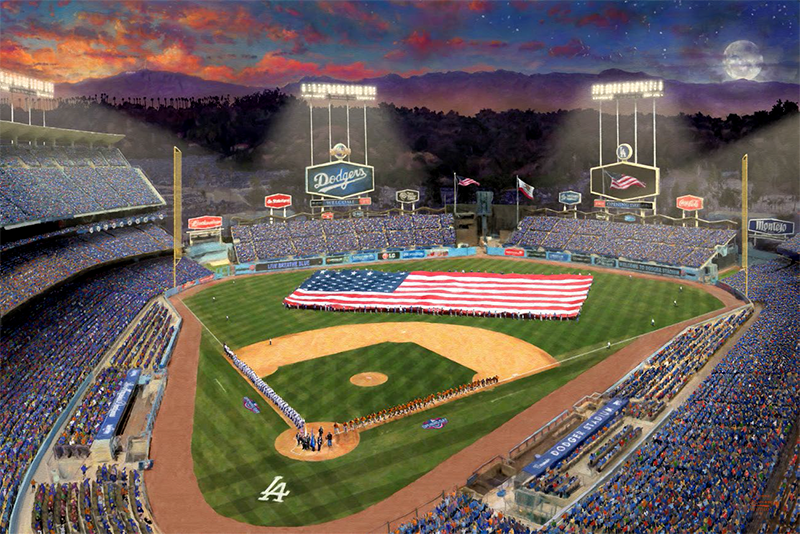 Evening at Dodger Stadium™