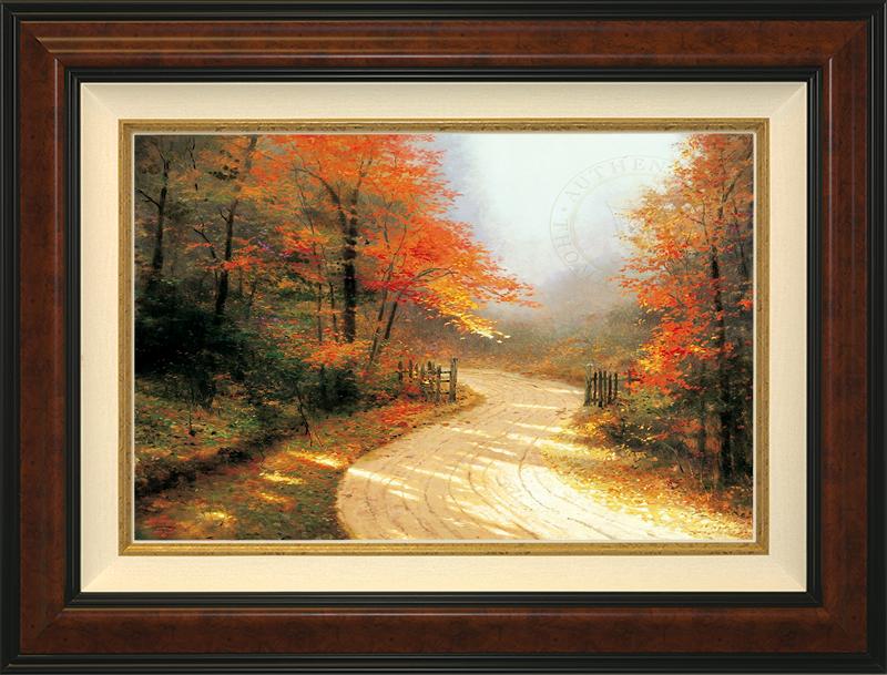 Autumn Lane -- Burlwood
