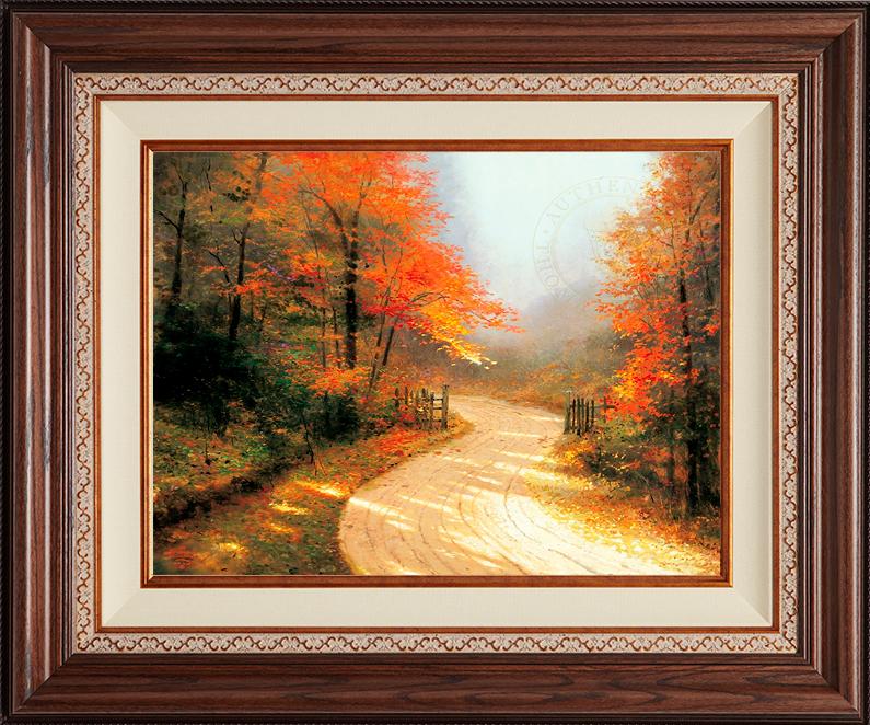 Autumn Lane -- Deluxe Walnut