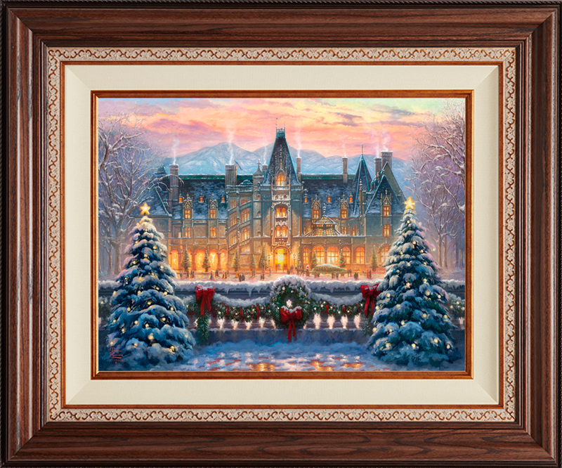 Christmas at the Biltmore -- Deluxe Walnut