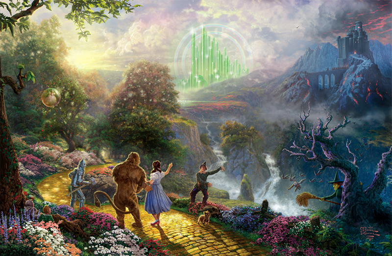 Dorothy Discovers the Emerald City
