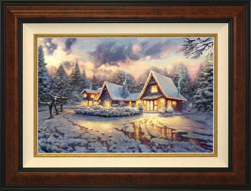 Christmas Lodge - Burlwood