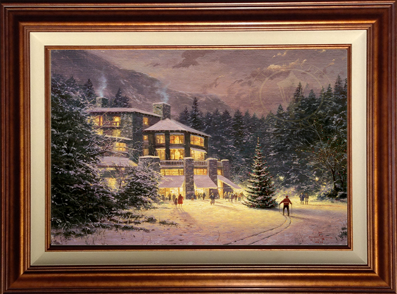 Christmas at the Ahwahnee -- Copper
