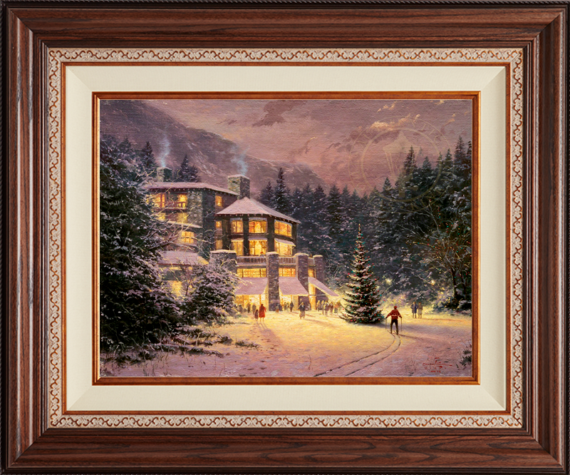 Christmas at the Ahwahnee - Deluxe Walnut
