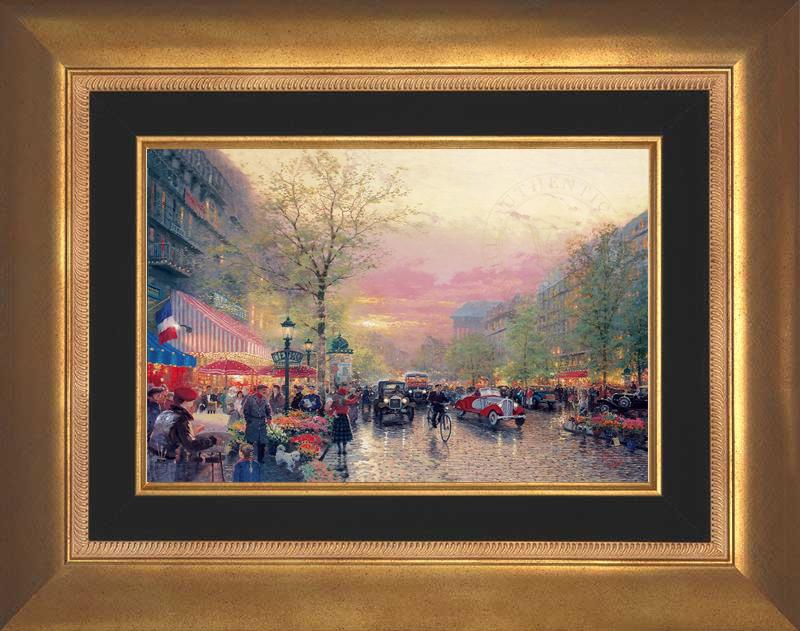 Paris, City of Lights - Aurora Gold