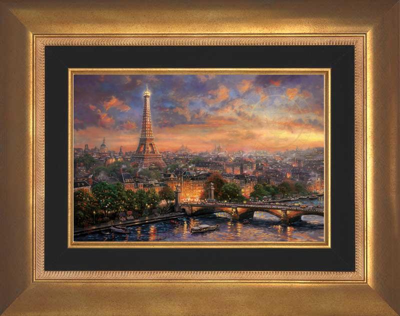 Paris, City of Love -- Aurora Gold