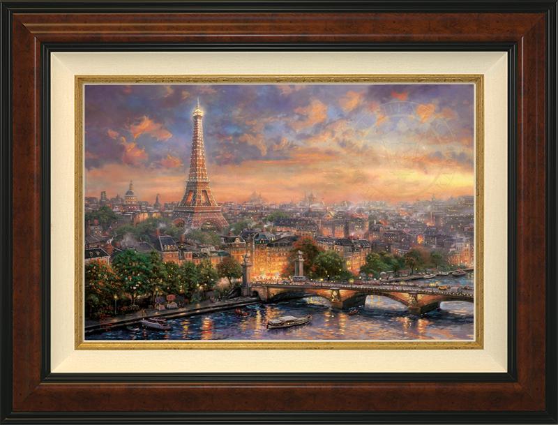 Paris, City of Love -- Burlwood