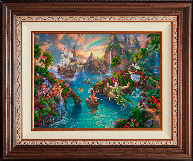 Peter Pan's Never Land - Deluxe Walnut