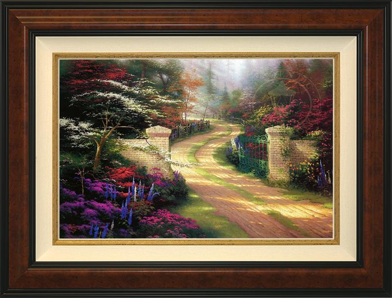 Spring Gate -- Burlwood