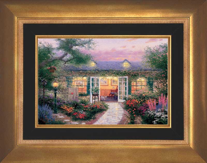 Studio in the Garden -- Aurora Gold