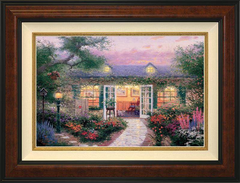 Studio in the Garden -- Burlwood