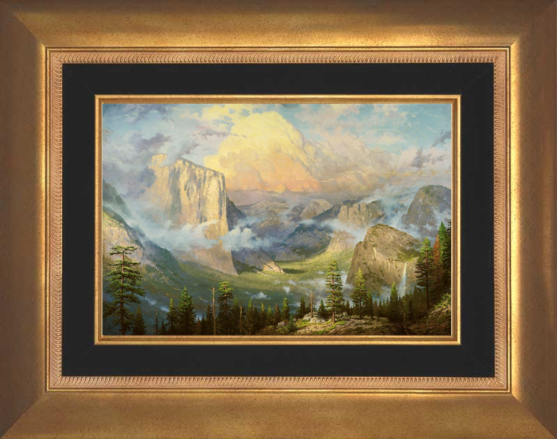 Yosemite Valley, Late Afternoon, Artist's Point of View -- Aurora Gold