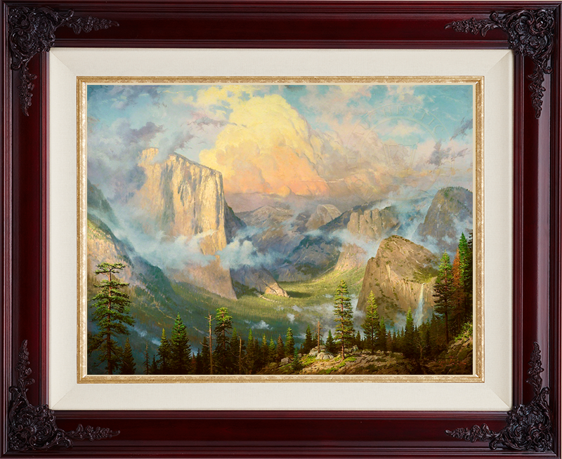 Yosemite Valley, Late Afternoon, Artist's Point of View -- Brandy