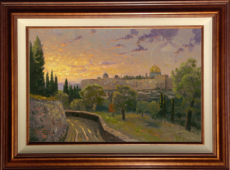 Jerusalem Sunset - Copper