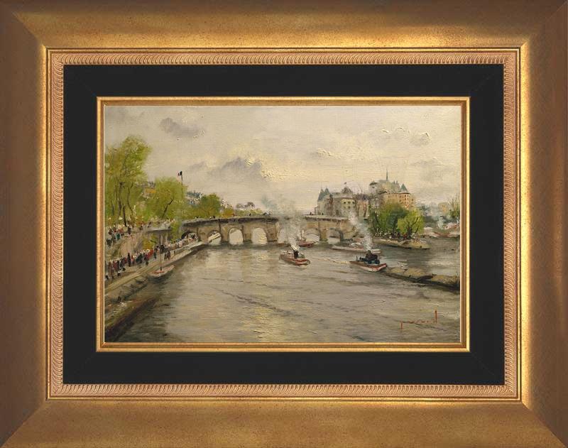 River Seine - Aurora Gold