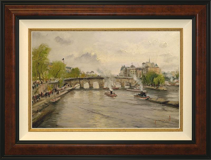River Seine - Burlwood