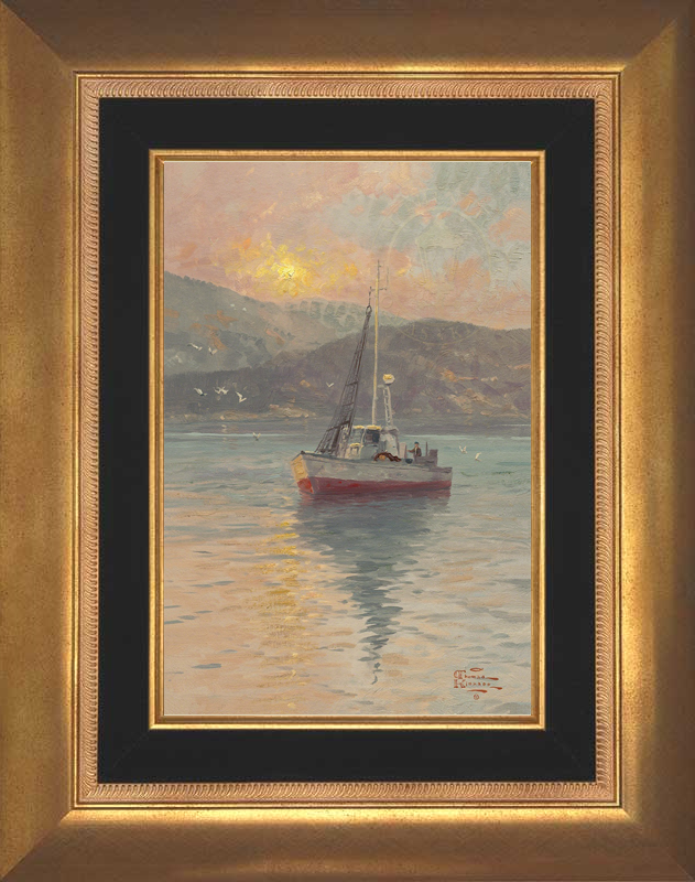 Sunrise, Sea of Galilee - Aurora Gold