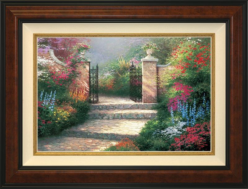 The Victorian Garden -- Burlwood