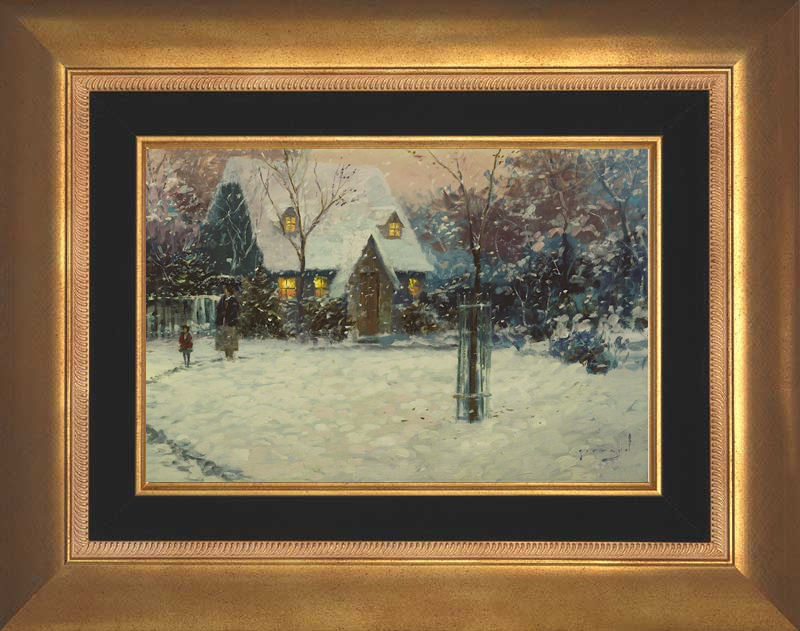 A Winter's Cottage -Aurora Gold