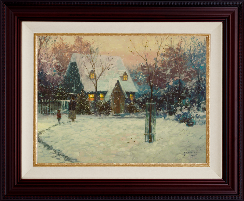 A Winter's Cottage - SR Brandy