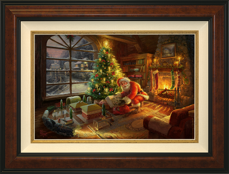 Santa's Special Delivery -- Burlwood