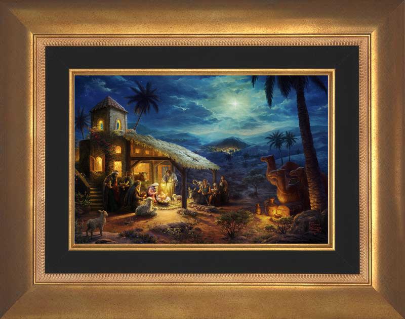 The Nativity -- Aurora Gold
