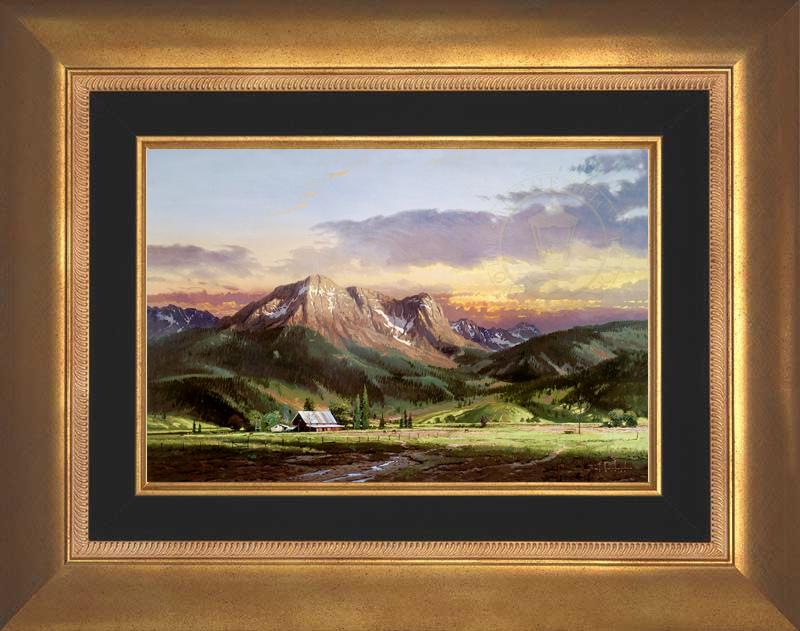 Dusk in the Valley -- Aurora Gold