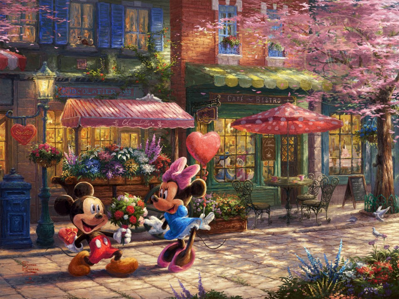 Mickey and Minnie – Sweetheart Café