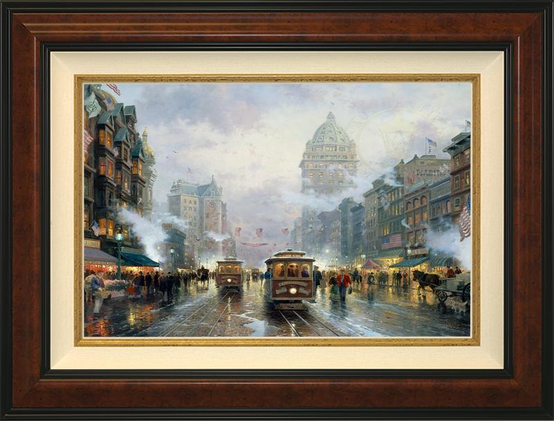 San Francisco, Market Street -Burlwood