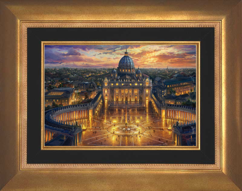 Vatican Sunset - Aurora Gold