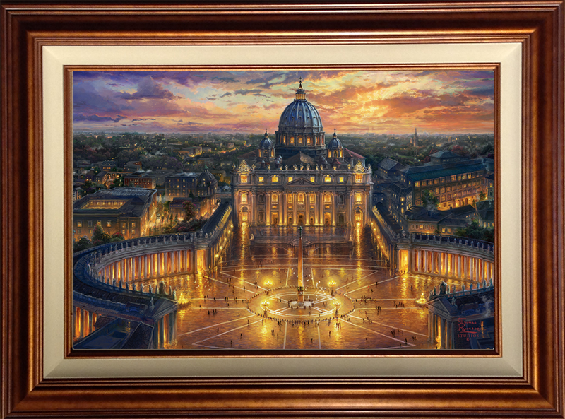 Vatican Sunset - Cooper