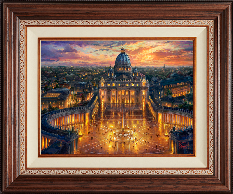 Vatican Sunset - Deluxe Walnut