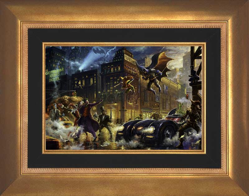 The Dark Knight Saves Gotham City -- Aurora Gold
