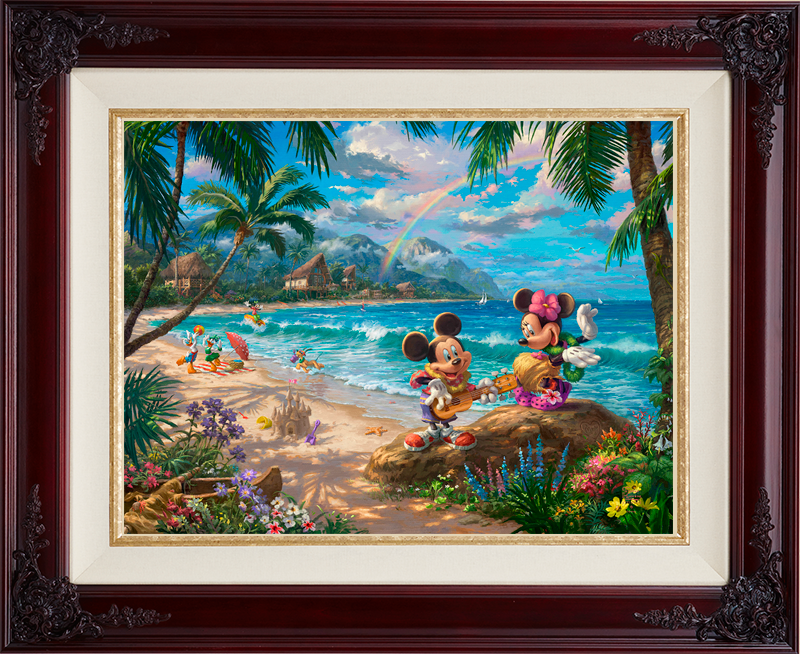 Mickey and Minnie in Hawaii - Brandy
