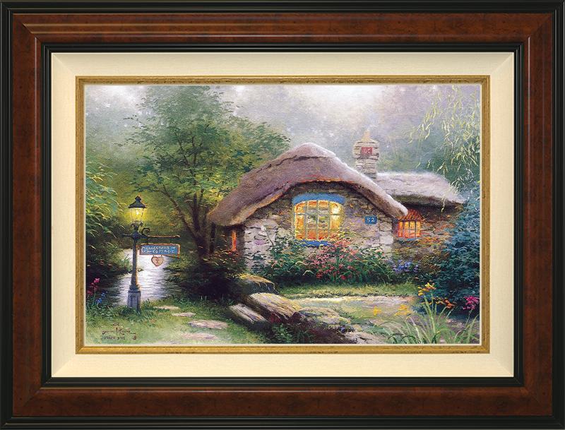Collector's Cottage I - Burlwood
