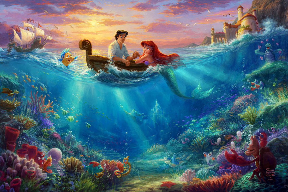Little Mermaid Falling in Love