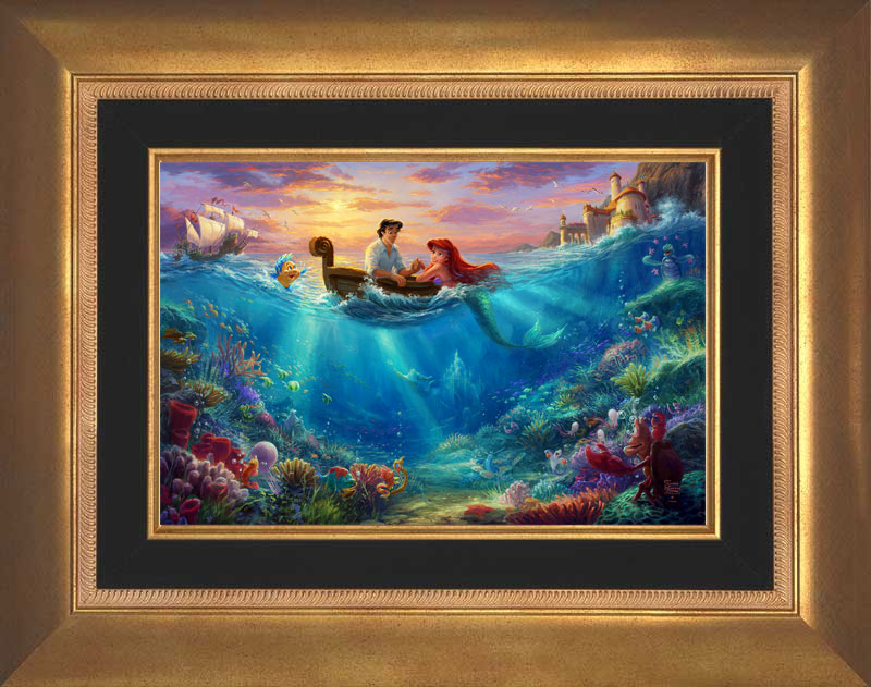 Little Mermaid, Falling in Love -- Aurora Gold