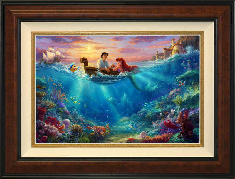 Little Mermaid, Falling in Love -- Burlwood