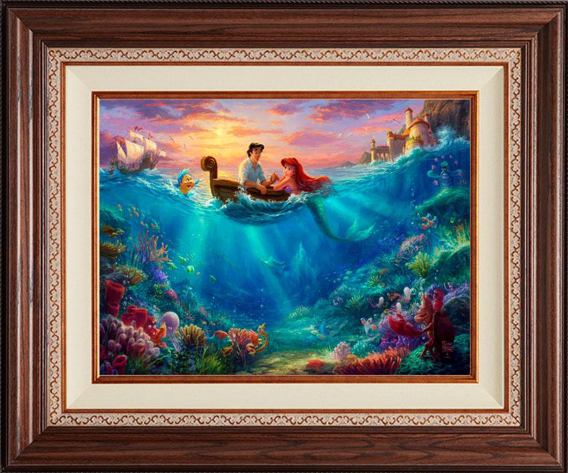 Little Mermaid, Falling in Love -- Deluxe Walnut
