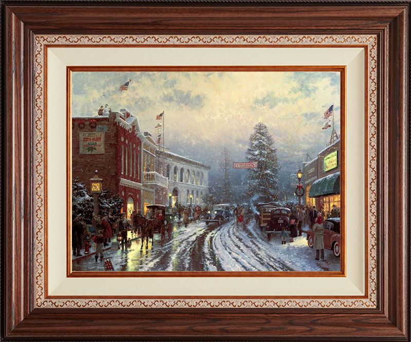 Christmas at the Courthouse -- Deluxe Walnut