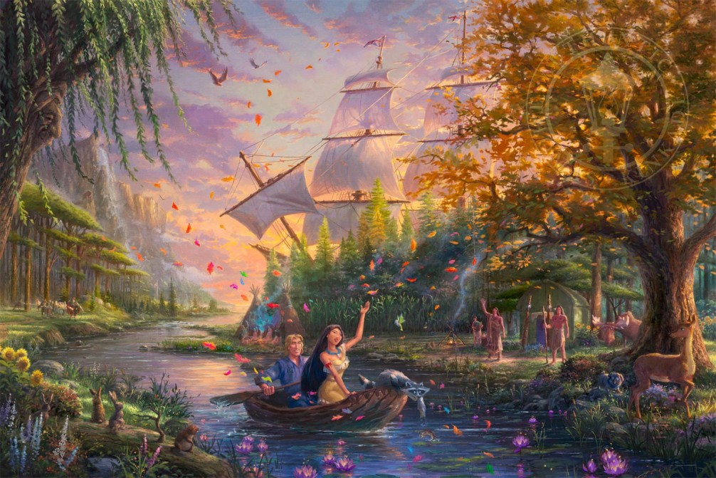 Pocahontas Colors of Love