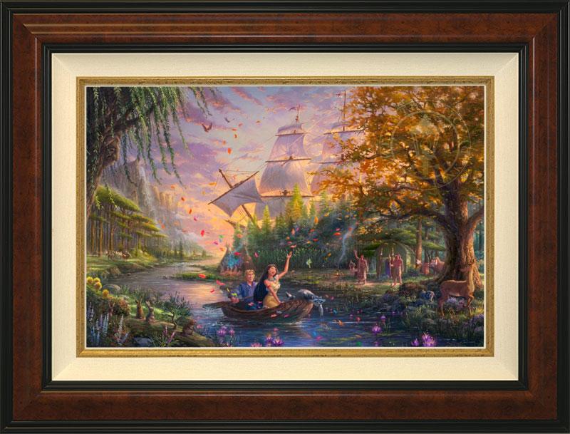 Pocahontas Colors of Love -Burlwood