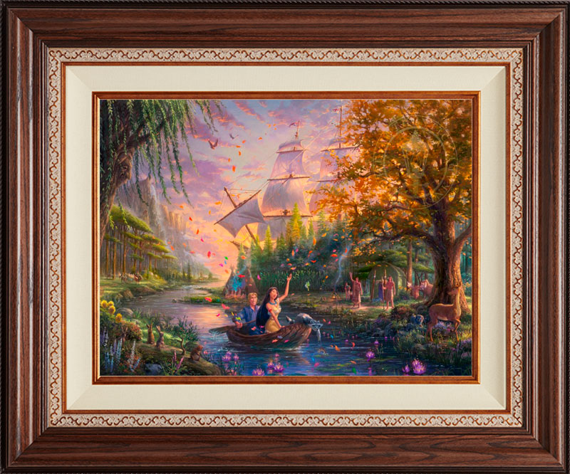 Pocahontas Colors of Love -Deluxe Walnut