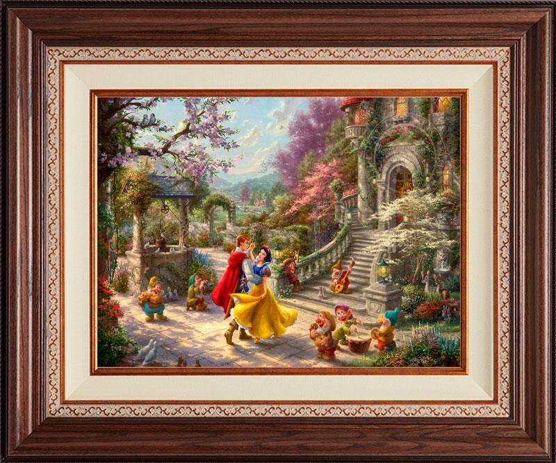 Snow White Dancing Sunlight -- Deluxe Walnut