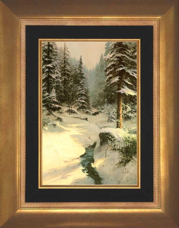Winter's Light - Aurora Gold