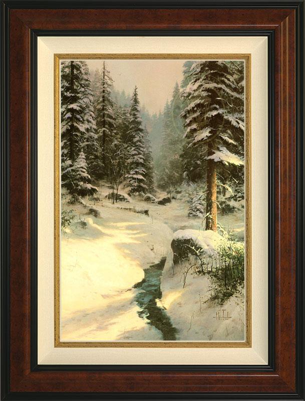 Winter's Light - Burlwood