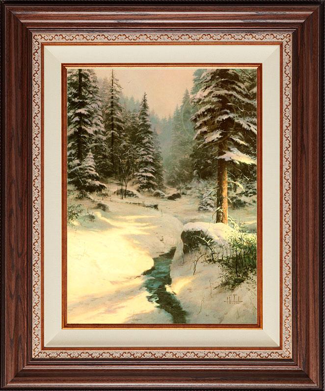 Winter's Light - Deluxe Walnut
