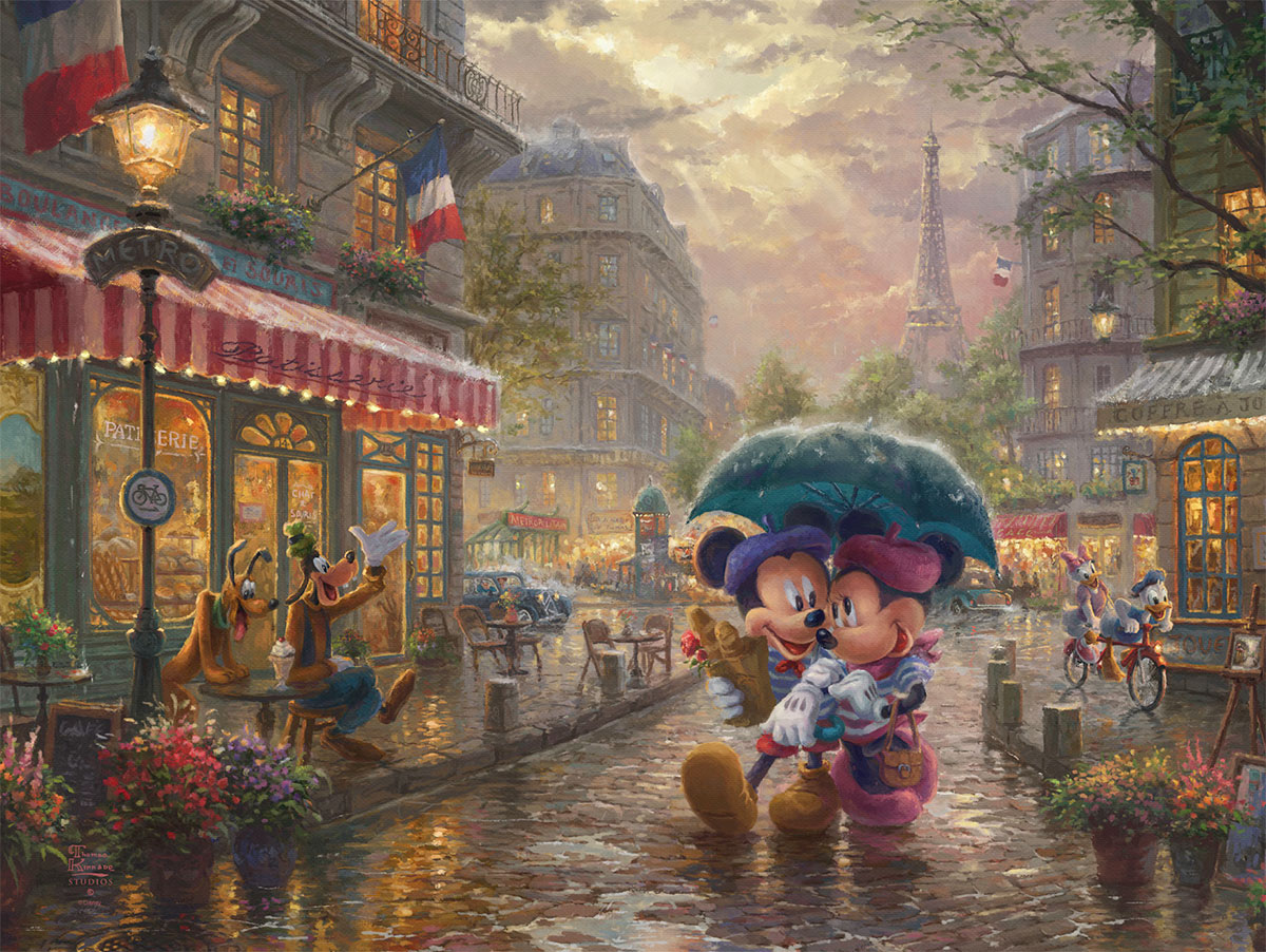 Mickey And Minnie In Paris Central Coast Showcase Galleries